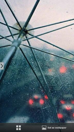 下雨靜態壁紙牆紙 手機版