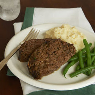 Home-style Meatloaf.