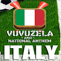 ITALY VUVUZELA and ANTHEM! logo