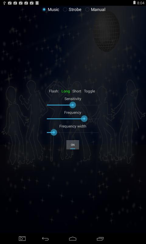 Disco Strobe Light - screenshot