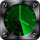 Radar Clock Live Wallpaper