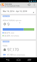 Screenshot of Google Analytics