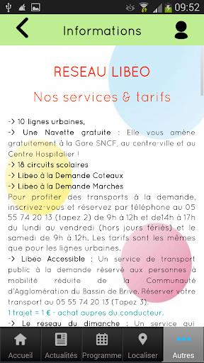 【免費交通運輸App】Libéo Brive-APP點子
