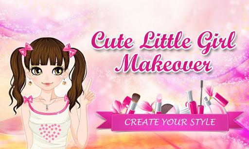 Cute Little Girl Makeover