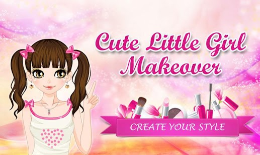 Game Cute Little Girl Makeover APK for Kindle