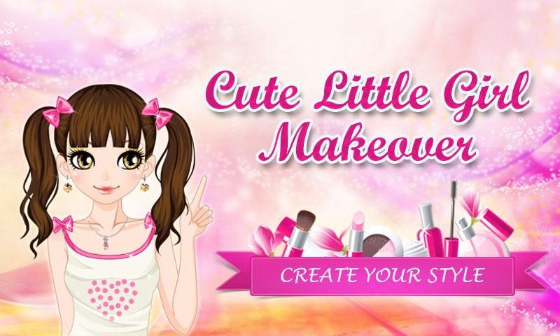 Cute Little Girl Makeover - screenshot