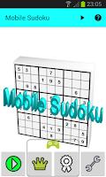 Screenshot of Mobile Sudoku
