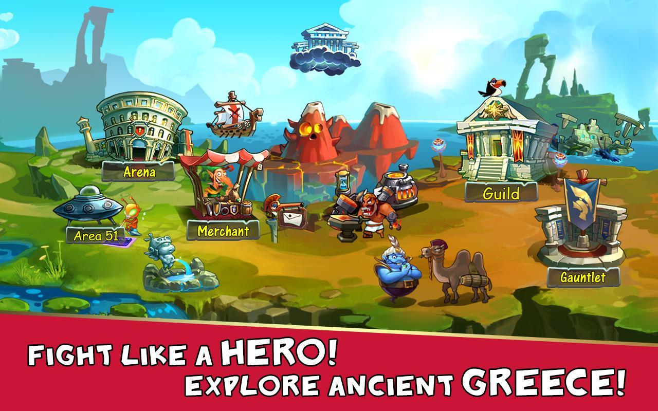 Screenshots of Gods Rush for iPhone
