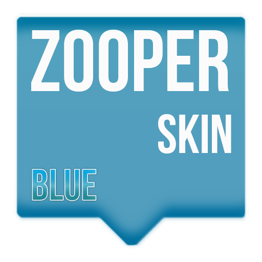 Blue Zooper theme 個人化 App LOGO-硬是要APP