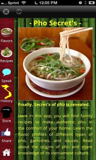 Pho Secret's App