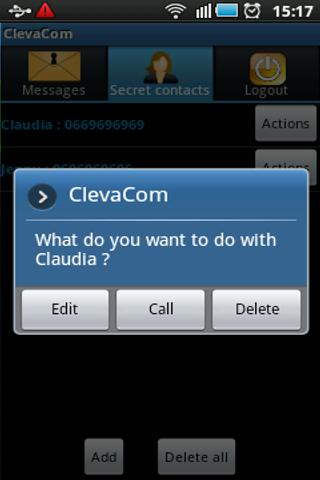 ClevaCom - screenshot