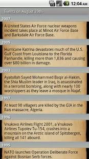 Today in History - screenshot thumbnail