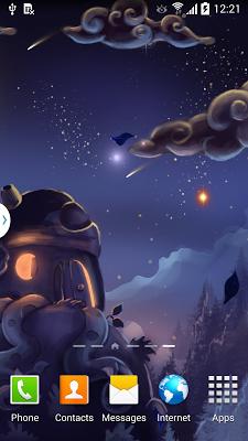 Meteor Shower Wallpaper Lite - screenshot