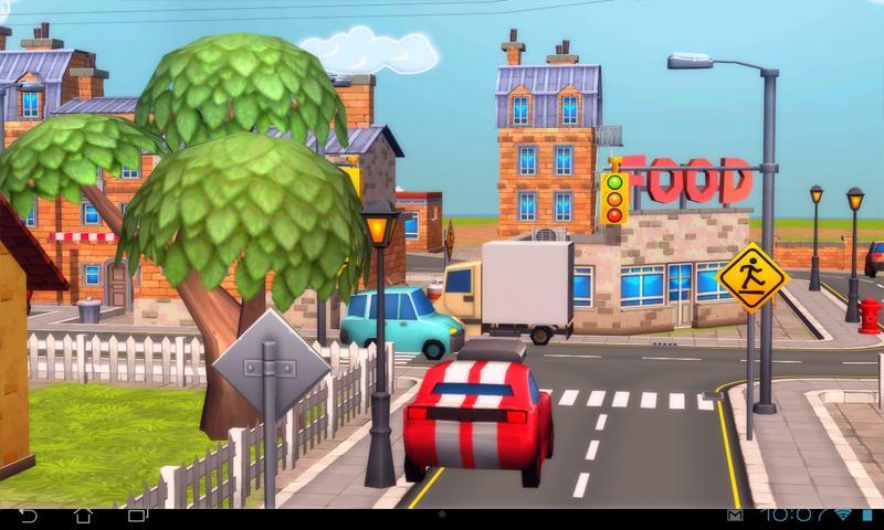 Cartoon City 3D Live Wallpaper