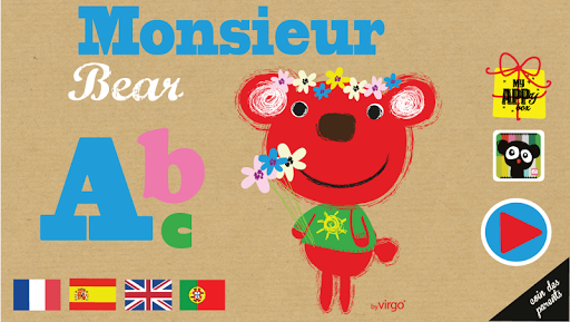 Monsieur Bear's ABC - Premium