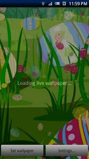 Easter Live Wallpaper - screenshot thumbnail