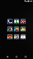 Screenshot of Colorful Metal v2 - Icon Pack