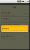 Screenshot of To Do Notepad مدونتي