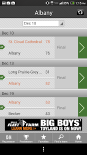 Boys' Basketball Scoreboard - screenshot thumbnail