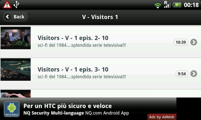 Visitors ITA- screenshot