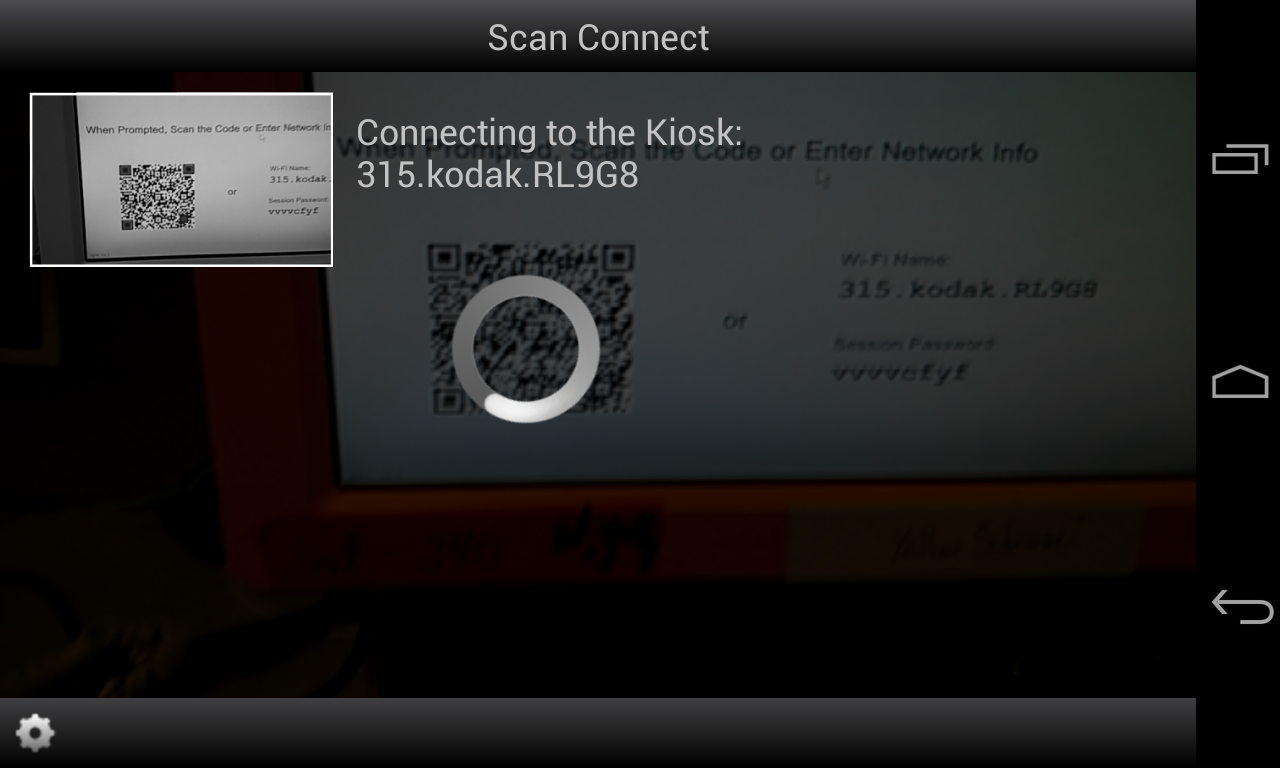 KODAK Kiosk Connect - screenshot