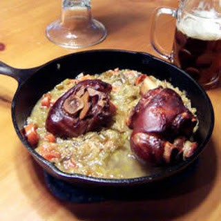German Roasted Ham Hocks (Schweinshaxe)