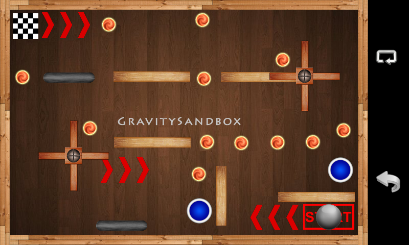Gravity Sandbox- screenshot