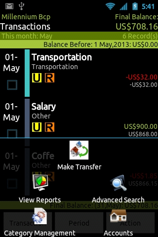 GOrc - Personal Finance- screenshot