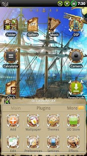 Pirate GO Launcher EX Theme - screenshot thumbnail