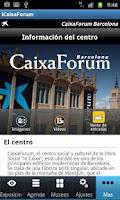 Screenshot of iCaixaForum
