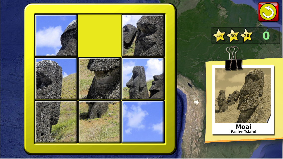 Kids Slide Puzzle World- screenshot