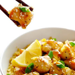 Skinny Honey Lemon Chicken.