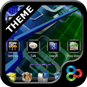 Tech GO Launcher EX Theme 個人化 App LOGO-硬是要APP