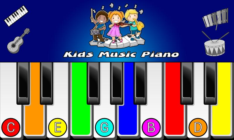 Kids Music Piano- screenshot