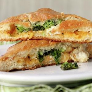 Broccoli, Chicken and Cheddar Hand Pies.