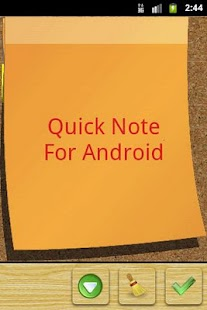 Quick Note sticky note widget - screenshot thumbnail