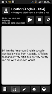 Acapela TTS Voices - screenshot thumbnail