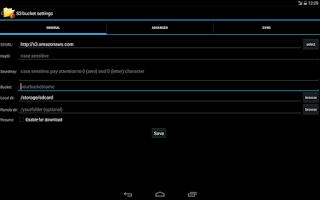 Screenshot of S3Anywhere (Amazon S3 cloud)