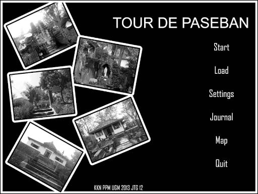Tour de Paseban : Visual Novel