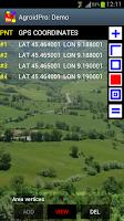 Screenshot of AgroidPro GPS Area Measure