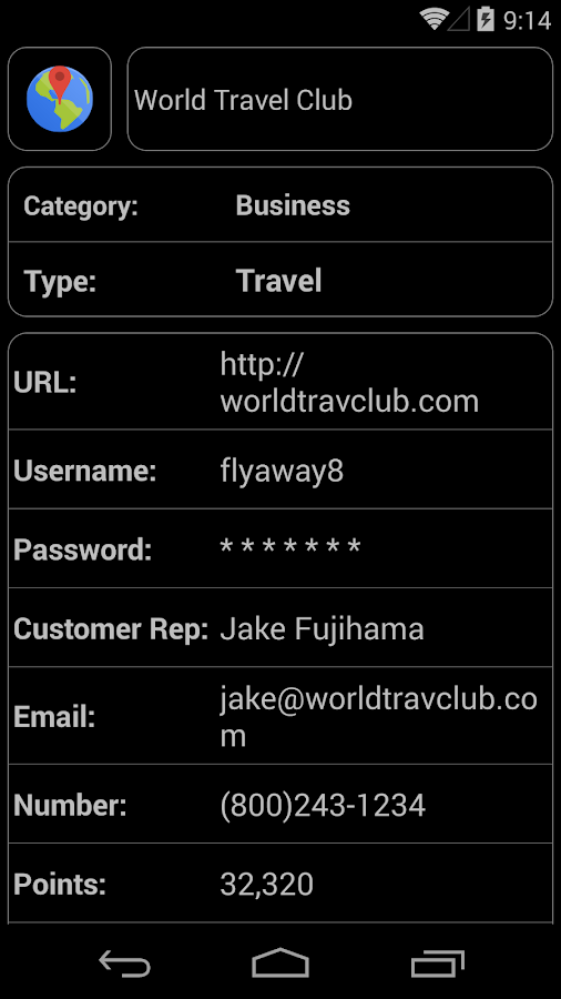 DataVault Password Manager - screenshot