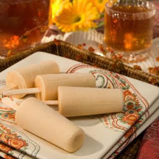Dulce De Leche Tea Pops.