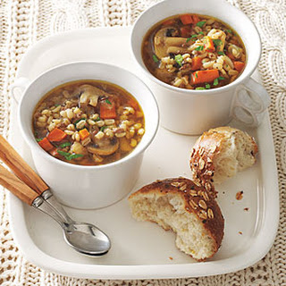 Mushroom, Beef and Barley Soup