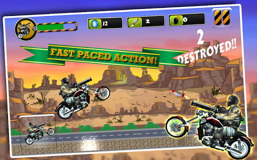 Biker Ninja:Quick Gun Escape