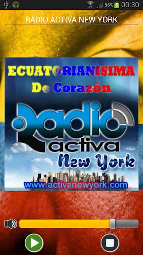 RADIO ACTIVA NEW YORK