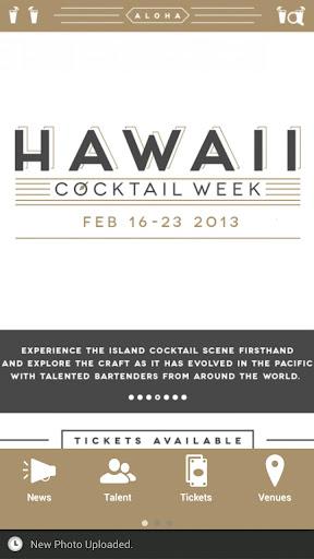 Hawaii Cocktail Week