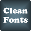 Clean2 font for FlipFont free icon