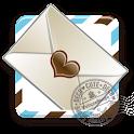 スカイブルー テーマ for DECOCUTE logo