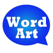 WordArt Chat Sticker MessageME