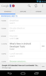 Google I/O 2013 - screenshot thumbnail